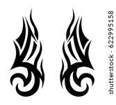 tattoos ideas designs   tribal... | Shutterstock .eps vector #622995158