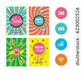 web banners and sale posters.... | Shutterstock .eps vector #623002526