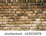 stone brick wall background | Shutterstock . vector #623025878