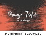 grunge paint texture. distress... | Shutterstock .eps vector #623034266