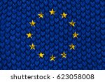 flag of europe | Shutterstock . vector #623058008