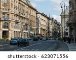 budapest  hungary   march 12 ... | Shutterstock . vector #623071556