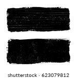 vector grunge banner.grunge... | Shutterstock .eps vector #623079812