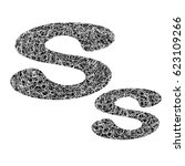 messy line letter | Shutterstock .eps vector #623109266