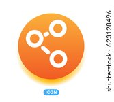 share vector icon  | Shutterstock .eps vector #623128496