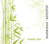 bamboo. vector. | Shutterstock .eps vector #62312914
