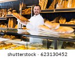 optimistic assistant... | Shutterstock . vector #623130452