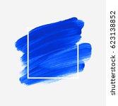 logo brush painted watercolor... | Shutterstock .eps vector #623138852
