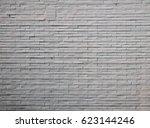 white bricks wall | Shutterstock . vector #623144246