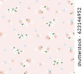 seamless pattern with small...   Shutterstock .eps vector #623146952