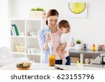 family  food  healthy eating ... | Shutterstock . vector #623155796