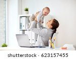 business  motherhood  multi... | Shutterstock . vector #623157455