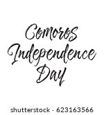 comoros independence day  text... | Shutterstock .eps vector #623163566