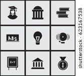 set of 9 editable graduation...
