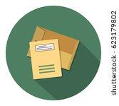 envelope icon   Shutterstock .eps vector #623179802