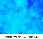 vector background from polygons ... | Shutterstock .eps vector #623186432
