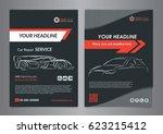 automotive repair business... | Shutterstock .eps vector #623215412