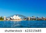 sydney  australia   december 25 ...   Shutterstock . vector #623215685