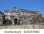 sao francisco church  right ...   Shutterstock . vector #623257082