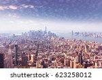 Manhattan Air View.