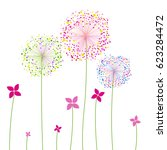 vector background with creative ...   Shutterstock .eps vector #623284472