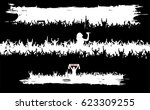 backgrounds from the crowd.   | Shutterstock .eps vector #623309255