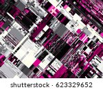 digital art background.... | Shutterstock . vector #623329652