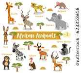 African Creature Cartoon On...