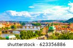 Panorama View Of Prague Skylin...