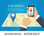 vector illustration. hand... | Shutterstock .eps vector #623361815