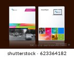 business vector template.... | Shutterstock .eps vector #623364182