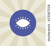 eye icon. sign design....
