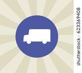 truck icon. sign design....