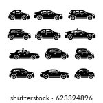 car icons | Shutterstock .eps vector #623394896