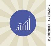 diagram icon. sign design.... | Shutterstock .eps vector #623402042