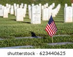 A Flag On A Grave At A Souther...
