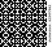 vector seamless pattern.... | Shutterstock .eps vector #623497862