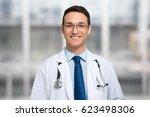 doctor portrait | Shutterstock . vector #623498306