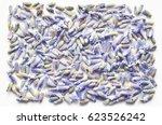 dry natural lavender flowers... | Shutterstock . vector #623526242