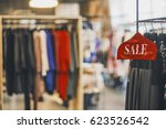 sale concept in a clothing store | Shutterstock . vector #623526542