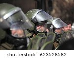 santiago  chile   august 09 ... | Shutterstock . vector #623528582