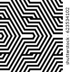 seamless pattern with black... | Shutterstock .eps vector #623534102