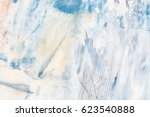 creative abstract hand painted... | Shutterstock . vector #623540888