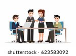 business people illustration.... | Shutterstock .eps vector #623583092