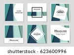 abstract vector layout... | Shutterstock .eps vector #623600996