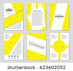 abstract vector layout... | Shutterstock .eps vector #623602052