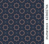 monogram seamless vector... | Shutterstock .eps vector #623602766