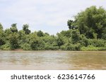 river side and grass  thailand | Shutterstock . vector #623614766