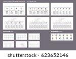 business infographics.... | Shutterstock .eps vector #623652146