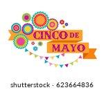cinco de mayo   may 5  federal... | Shutterstock .eps vector #623664836